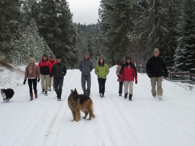 Platts on snowy road 2